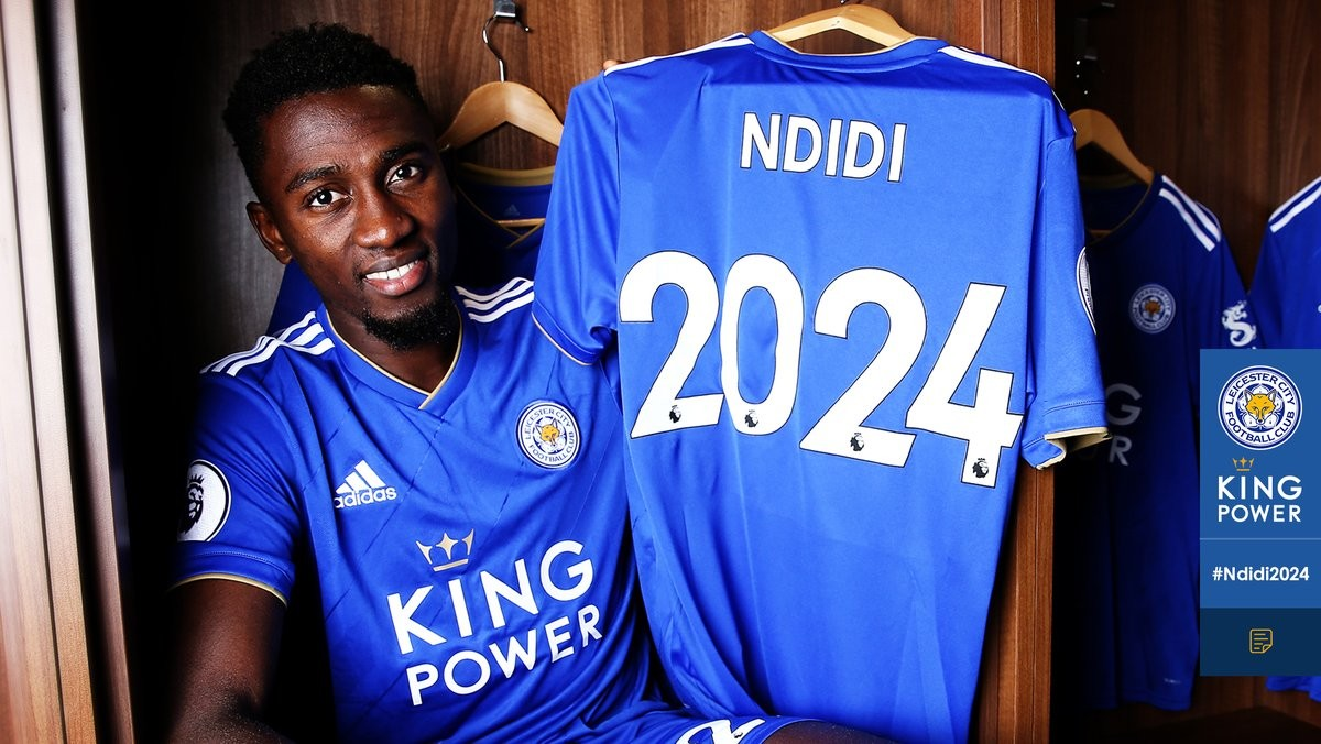 Super Eagles star Wilfred Ndidi signs new six-year deal with Leicester City?(Photo)