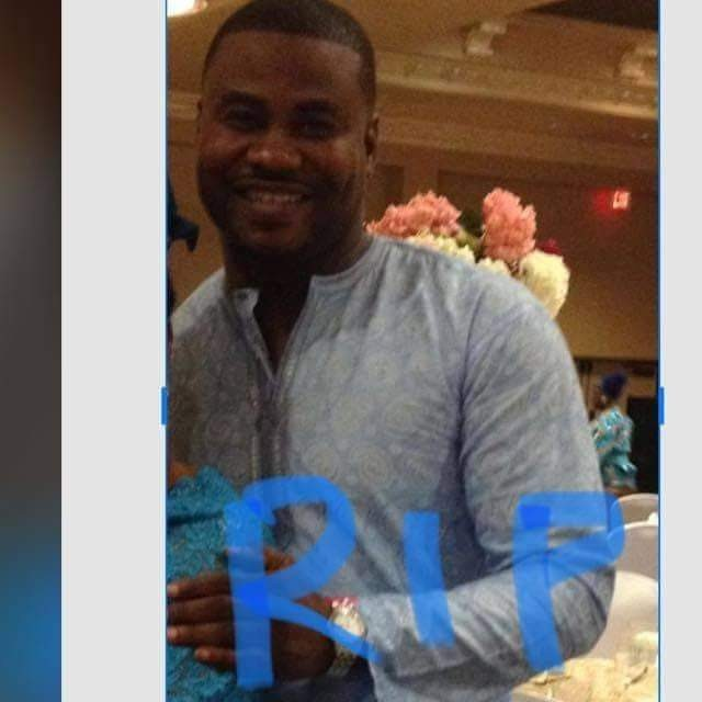 Photos of the Nigerian man stabbed to death in the US by his girlfriend
