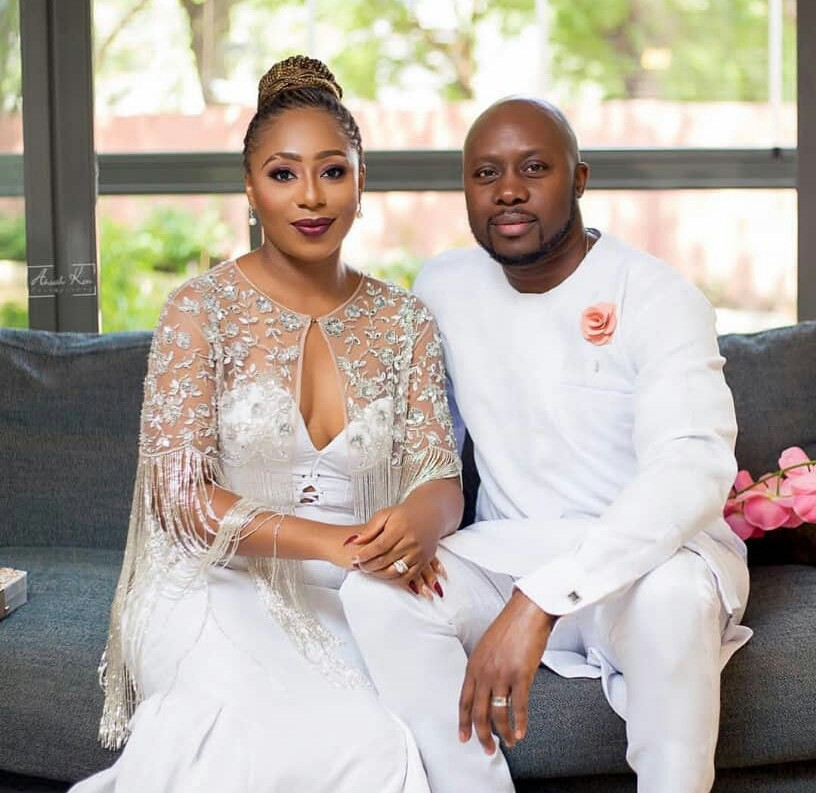 Baeutiful new photos of actress Dakore Akande and her hubby, Olumide
