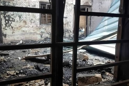 Photos: Pastor?s wife, 3 children including a 2-month old baby die in fire disaster