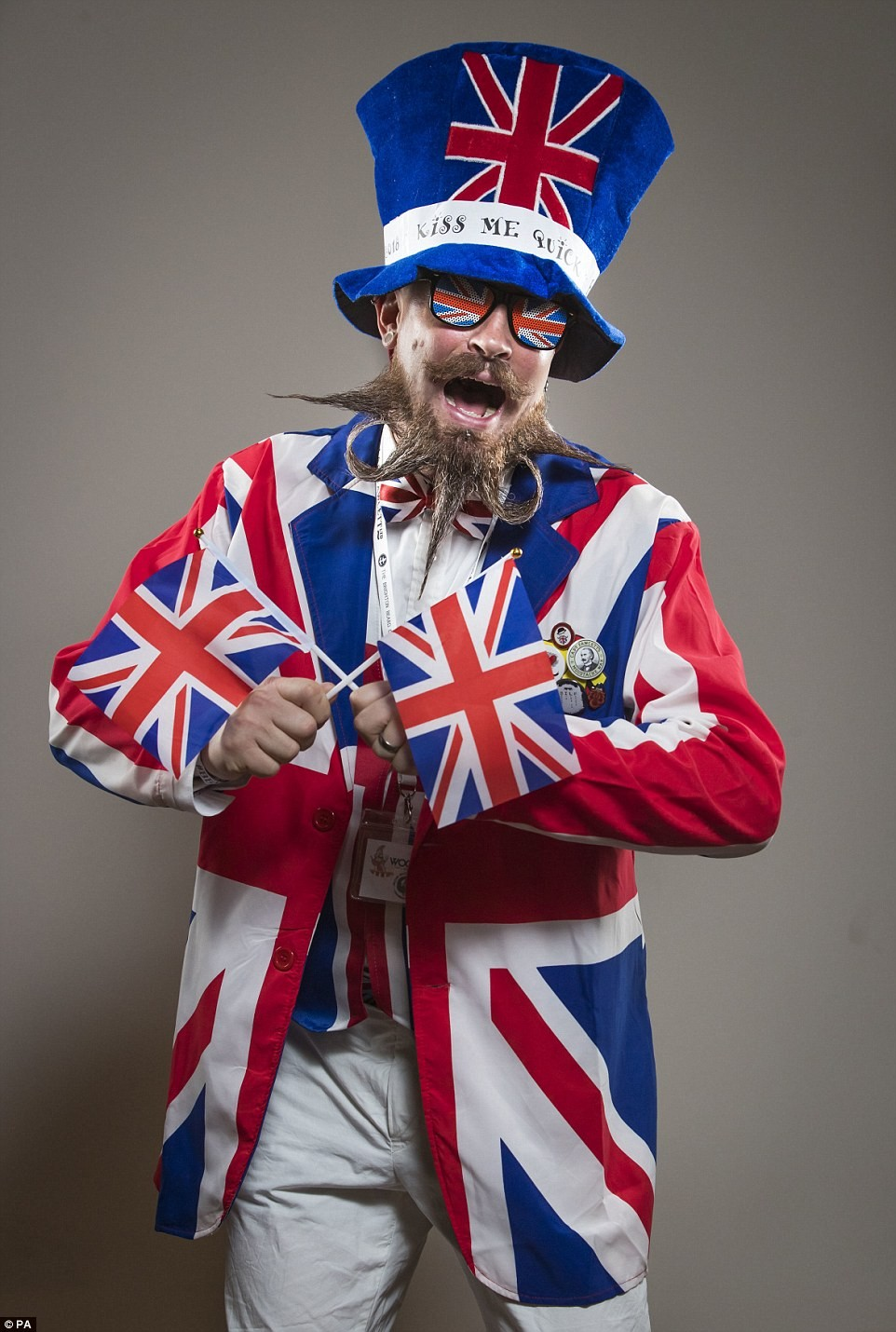 Check out photos from the British Beard & Moustache Championships in Blackpool.