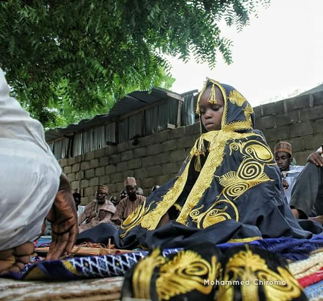 Photos: Young boy celebrated for memorising the entire Holy Quran in Maiduguri