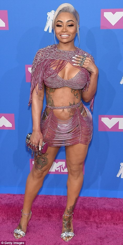 Blac Chyna, Amber Rose, Nicki Minaj and Sky lead 2018 VMA