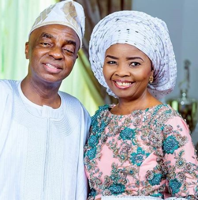 Billionaire clergyman, David Oyedepo and his wife, Faith, celebrate 36th wedding anniversary