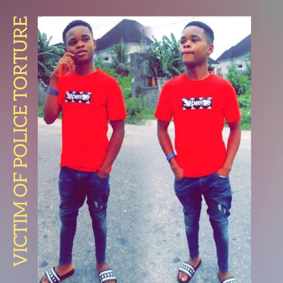 "Young man accused of being  a ""Yahoo boy"" allegedly tortured to death by police in Delta (photos)"