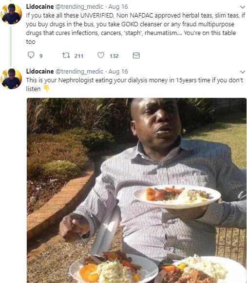 Twitter Sories: Nigerian lady allegedly develops kidney failure due to excessive use of bleaching cream