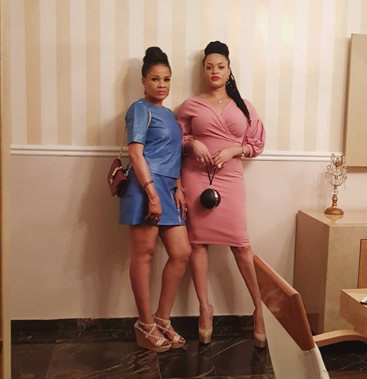 Adaeze Yobo and her mother could pass for siblings in new photo