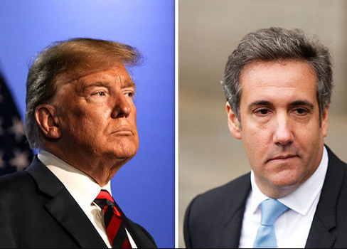 Donald Trump dissociates himself from Michael Cohen after he pleaded guilty to paying porn star Stormy Daniels at Trump