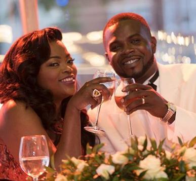 WOW PHOTOS !!!:  Funke Akindele and hubby, Jjc Skillz, celebrate 2nd wedding anniversary