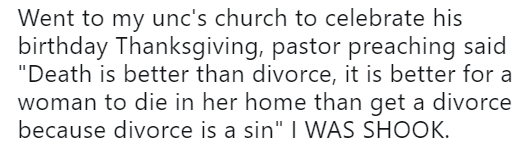 Ladies disclose the worse things a pastor has said about women in church...some of them are quite shocking