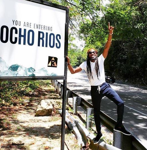 Dbanj rocks dreadlocks in new photos as he vacations in Jamaica