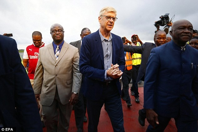 Arsene Wenger In Liberia, To Receive Special Award From George Weah