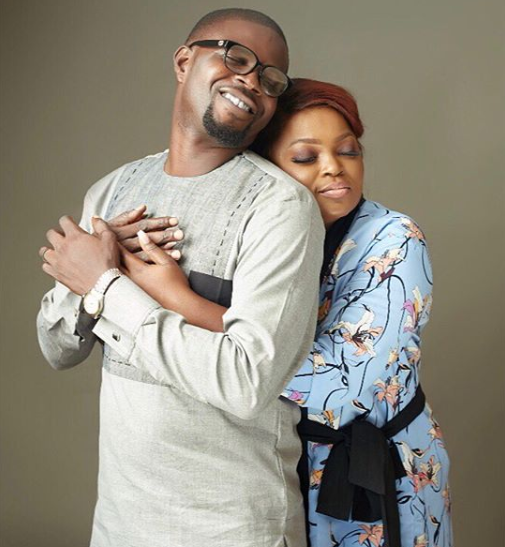 Beautiful new photos of Funke Akindele and her husband, JJC Skillz
