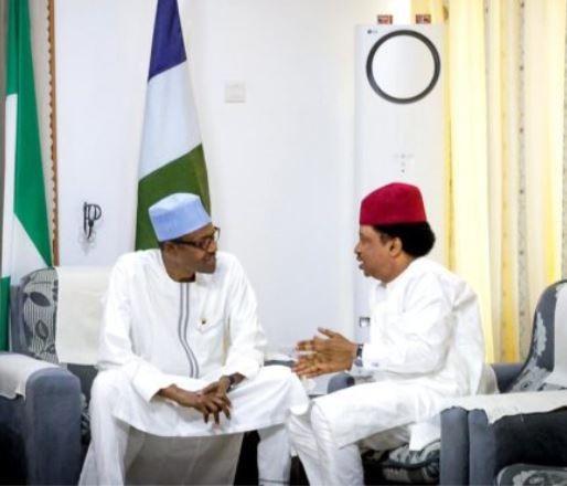 President Buhari And Senator Shehu Sani Held A Closed Door Meeting
