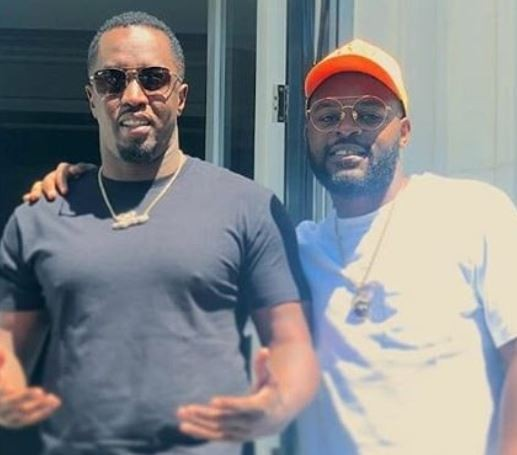Speed Darlington shades the heck out of Falz for meeting Diddy