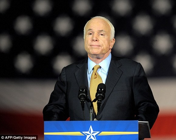 Senator John McCain discontinues medical care and is no longer seeking treatment for his aggressive brain cancer