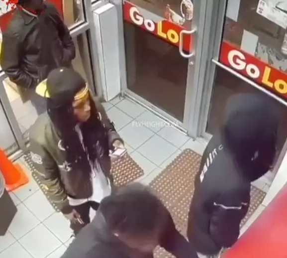 Shocking video shows the moment 4 men were shot at in a store; 2 survived and 2 died