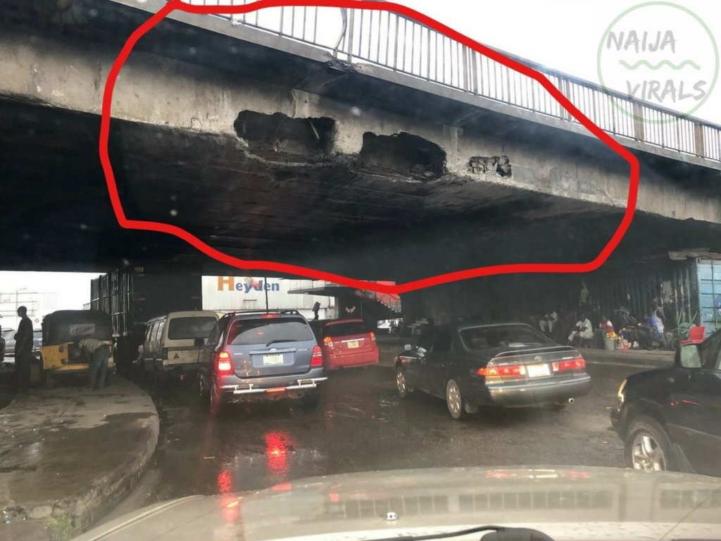 PHOTOS !!!:  Carter bridge looking like a disaster waiting to happen