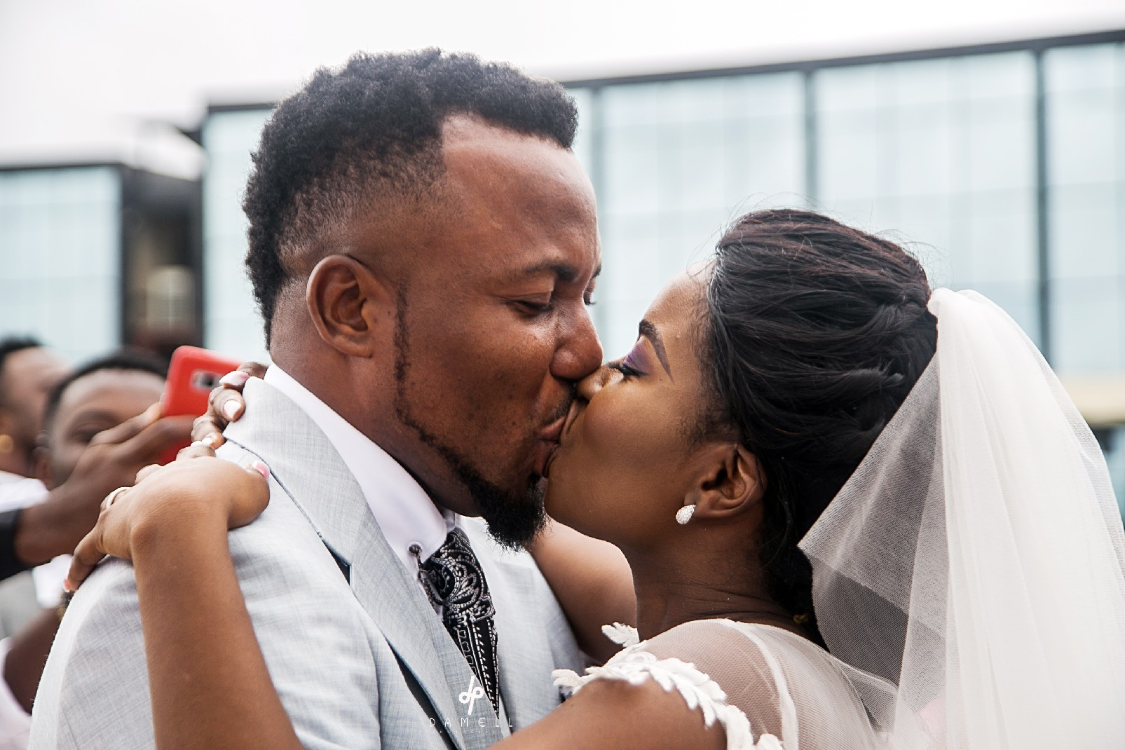 Film Maker Theo Ukpaa weds his British/Nigerian sweetheart Tola Adesokun in private beach wedding (photos)