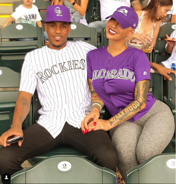 Amber Rose, 34, shares new lovely photo with her 23-year-old  NBA beau Monte Morris
