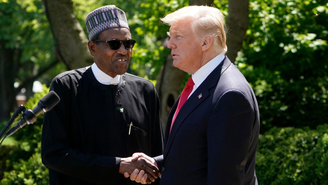 Trump refers to President Buhari as a
