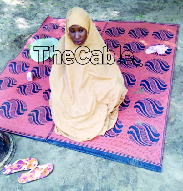 "Leah Sharibu speaks from Boko Haram captivity, says ""I am calling on the president to pity me"""