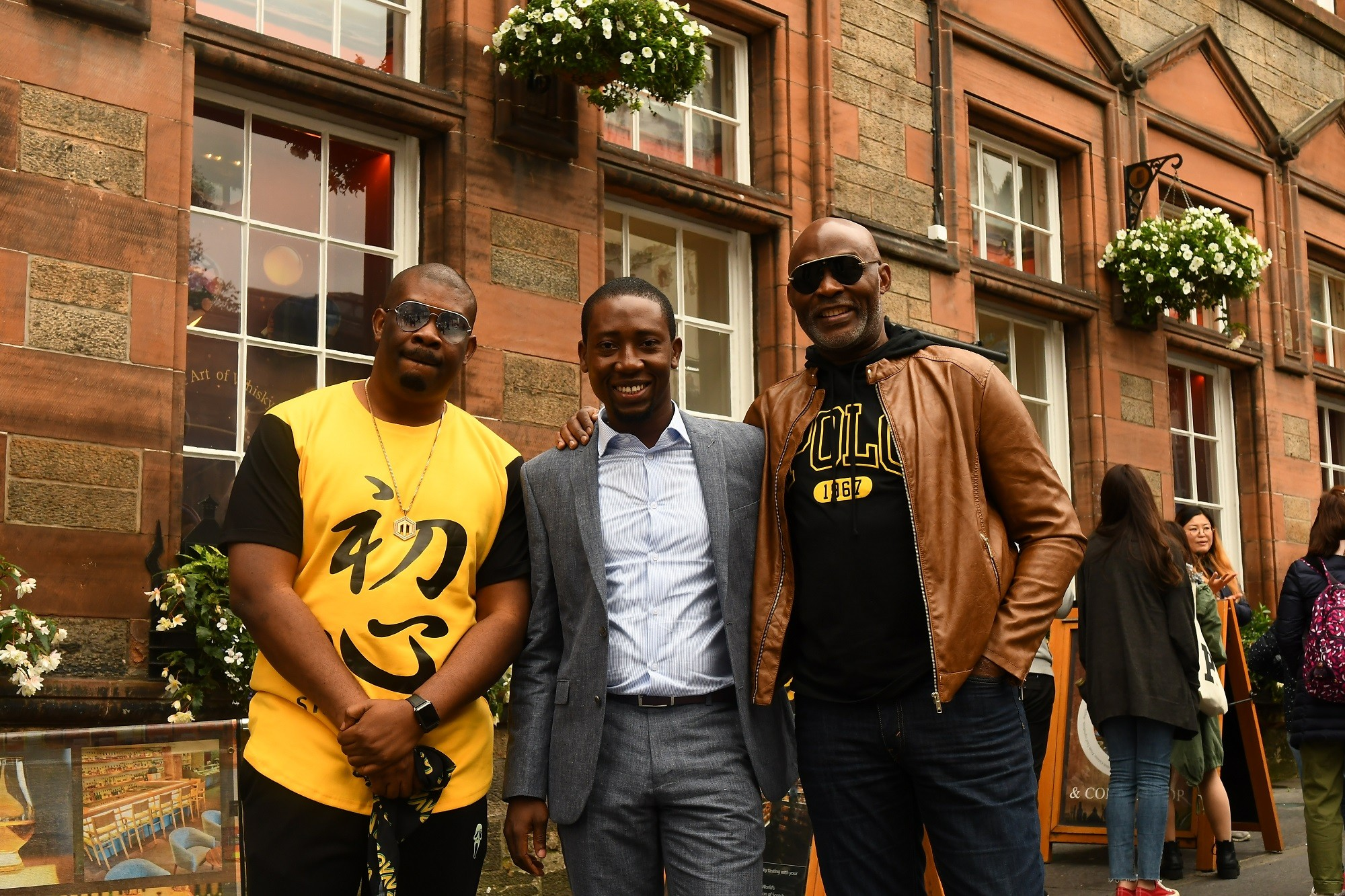 RMD & Don Jazzy land in Scotland in search of the perfect Johnnie Walker blend