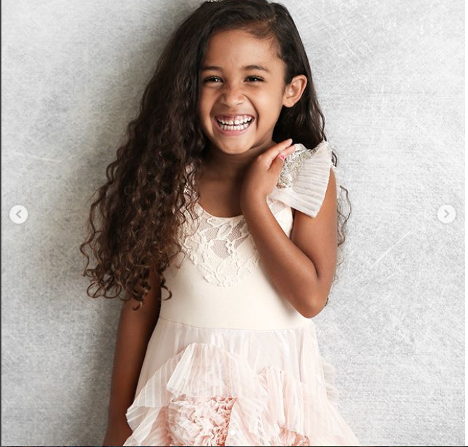 Chris Brown's daughter Royalty looks flawless in new photos