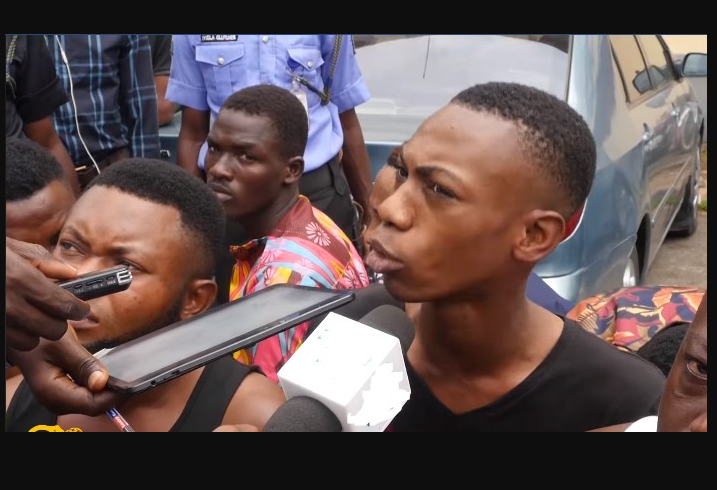 One of the 57 suspected homosexuals arrested at a hotel in Lagos, reveals he