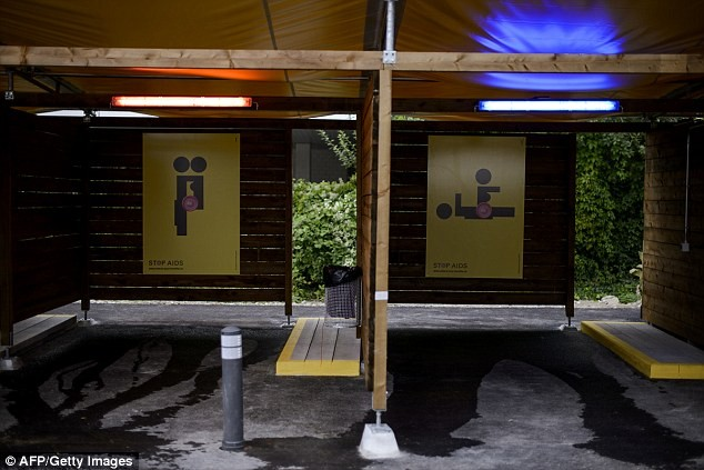 See the Govt funded drive-in sex booths in Zurich where prostitutes and customers meet for sex (Photos/Video)