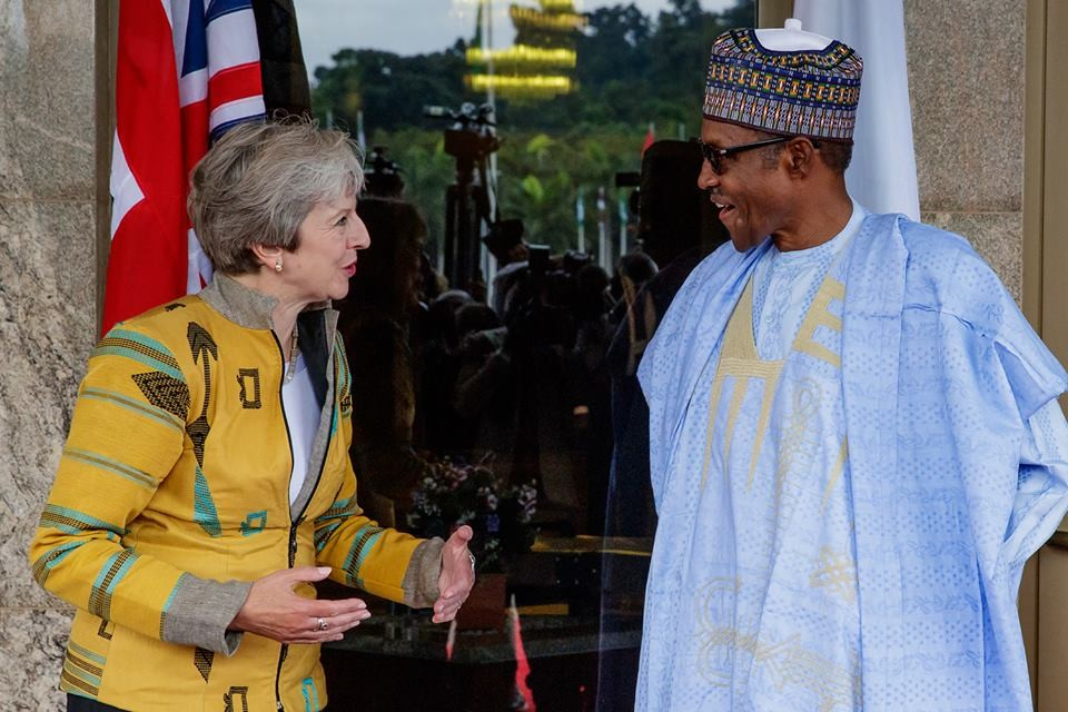 ?2019 election will be free, fair and credible? - President Buhari assures UK Prime Minister, Theresa May