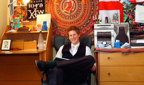 Rare photos of Prince Harry?s boarding school room reveal sweet tribute to mother Diana