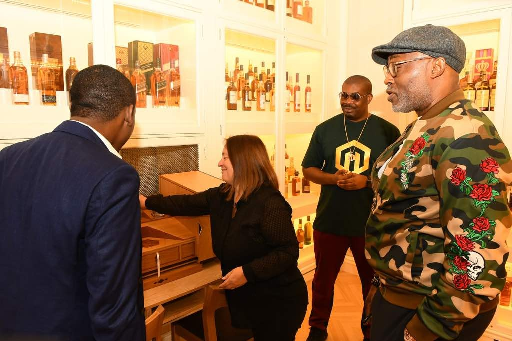 Journey to the perfect blend: RMD & Don Jazzy continue search for the perfect johnnie walker blend