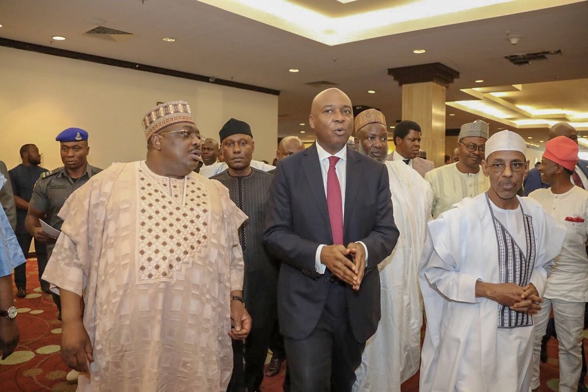 Breaking: Bukola Saraki declares to run for president!