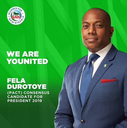 Fela Durotoye emerges as the PACT consensus candidate for president in 2019