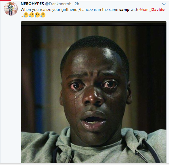 Checkout the hilarious Twitter reactions from Nigerians as Davido resumes for service at the NYSC camp in Lagos