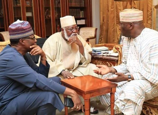 Election 2019: Atiku visits Babangida and Abdulsalam Abubakar In Niger State (Photos)