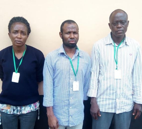 Two men and a woman arraigned for visa scam in Ibadan
