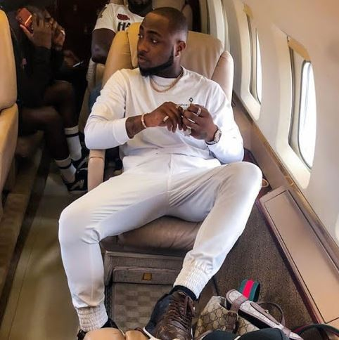 Davido heads to Boston for his US tour just days after registering for NYSC in Lagos