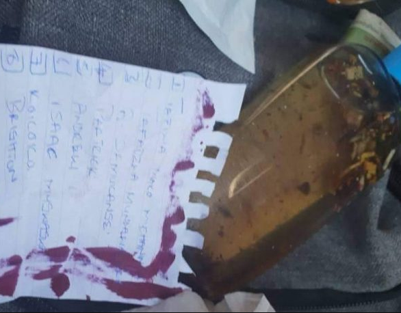 Man finds love potion in his girlfriend