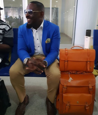 Choi! Jim Iyke drags IG user who taunted him over slapping someone on a flight