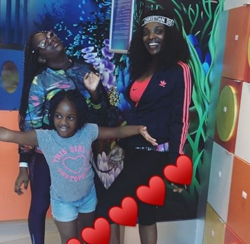 Annie Idibia calls out man who hacked her daughter