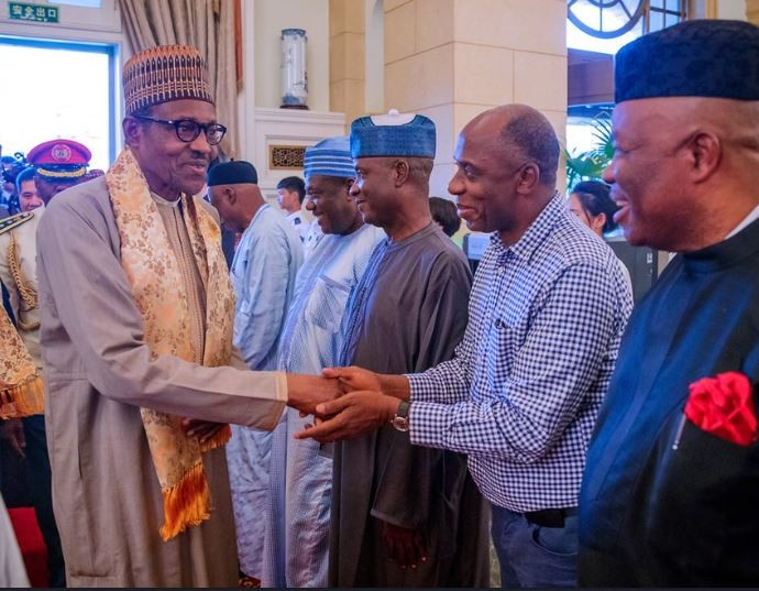 Photos: President Buhari arrives?China for the 7th Summit of the Forum on China-Africa Cooperation