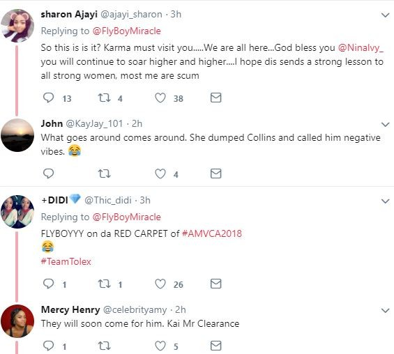 Nigerians drag the heck out of BBNaija winner, Miracle after announcing his break up with Nina saying,