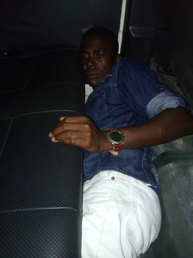 Photos: Notorious cultist terrorizing community, nabbed in Bayelsa, others escape