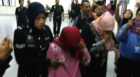 Malaysian women flogged in public for attempting to have lesbian sex