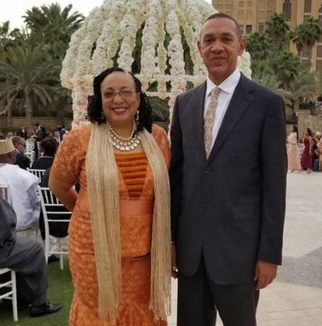 Senator Ben Bruce celebrates 40th wedding anniversary with his wife,�Evelyn Murray-Bruce