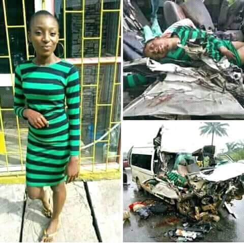 Photo of female ABSU student shortly before she was killed in fatal accident