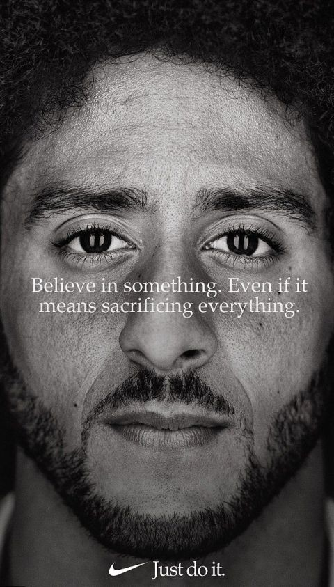 Colin Kaepernick who led kneeling protests is chosen by Nike to lead ?Just Do It? campaign