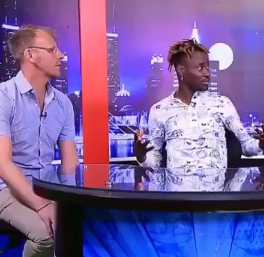 Bisi Alimi and his husband talk about their first date on LITV as they become first gay couple to be interviewed on any Nigerian Television (video)